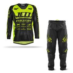 Calca e Camisa Motocross Jett Evolution