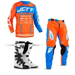 Equipamento Motocross Jett Evolution 2 - 3 Itens
