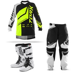 Kit Equipamento Cross Pro Tork Factory Edition Neon - 3 Itens