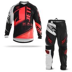 Kit Equipamento Motocross Calça e Camisa Jett Factory Edition