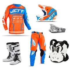 Kit Motocross Jett Evolution 2 - 6 Itens