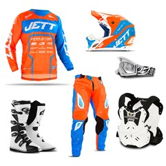 Kit Equipamento Motocross Jett Evolution 2 - 6 Itens