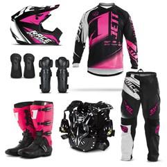 Equipamento Motocross Jett Factory Edition - 7 Itens