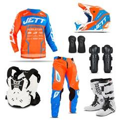 Kit Motocross Jett Evolution 2 - 7 Itens