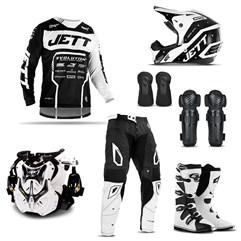 Equipamento Motocross Jett Evolution 2 - 7 Itens