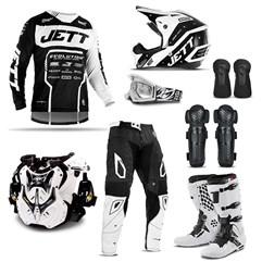 Equipamento Motocross Jett Evolution 2 - 8 Itens