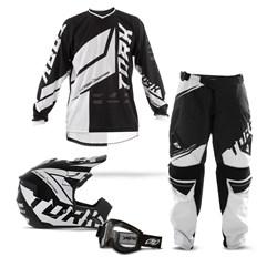 Kit Equipamento Motocross Pro Tork Factory Edition - 4 Itens