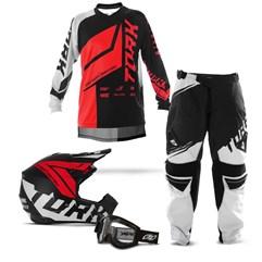 Kit Motocross Pro Tork Factory Edition Neon - 4 Itens