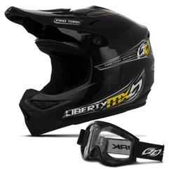 Capacete Motocross Pro Tork Mx Pro + Óculos 788