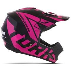 Capacete Feminino Motocross Pro Tork TH1 Factory Edition