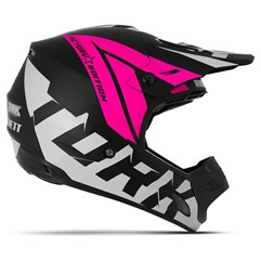 Capacete Feminino Motocross Factory Edition Neon Pro Tork