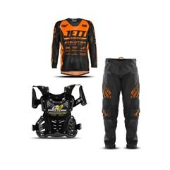 Kit Equipamento Motocross Infantil Jett Evolution