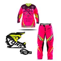 Conjunto Motocross Infantil Pro Tork Insane X