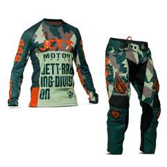 Calça e Camisa Motocross Jett Factory Edition 3