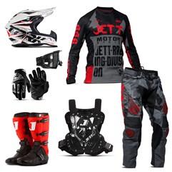 Kit Jett Factory Edition 3 - Oficial Campeonato Paranaense de Motocross