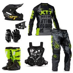 Kit Jett Factory Edition 3 - Oficial Campeonato Paranaense Motocross