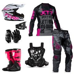 Kit Jett Factory Edition 3 - Oficial do Campeonato Paranaense Motocross