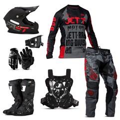 Kit Jett Factory Edition 3 Oficial Campeonato Paranaense de Motocross
