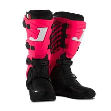 Bota Feminina Motocross Jett Lite Preto/Rosa