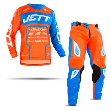 Calca e Camisa Motocross Jett Evolution 2