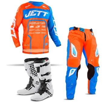 Kit Equipamento Motocross Jett Evolution 2 - 3 Itens