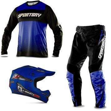 Kit Motocross com 3 Itens Sportbay