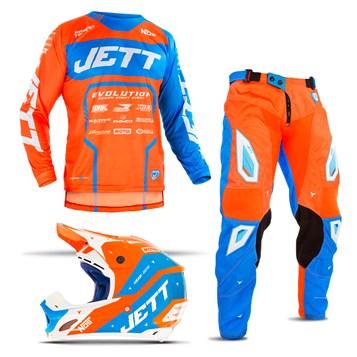 Kit Motocross Jett Evolution 2 - 3 Itens