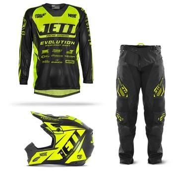 Kit Motocross Jett Evolution - 3 Itens