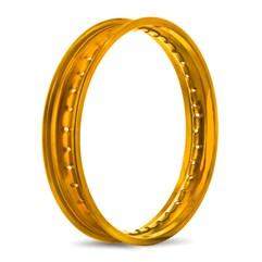 Aro de Roda Dianteiro Alumínio 21 x 160  Compat. C/ CRF 250 2019 / CRF 230F Dourado