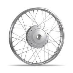 Aro De Roda Montado Dianteiro Biz 100/125 1998 Até 2010 Pro Tork