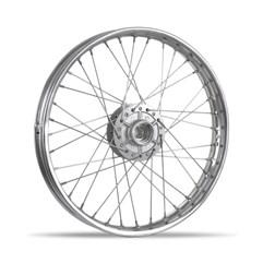 Aro de Roda Montado Titan 125 ESD Dianteiro Cromado