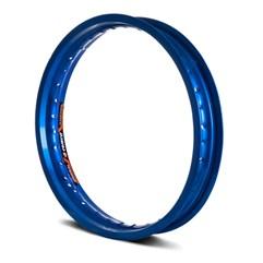 Aro Roda Moto Dianteiro Eninco Titan 125/150 YBR 125 Azul