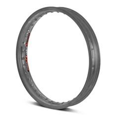 Aro Roda Moto Dianteiro Eninco Titan 125/150 YBR 125 Cinza Fosco