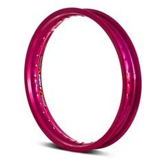 Aro Roda Moto Dianteiro Eninco Titan 125/150 YBR 125 Rosa