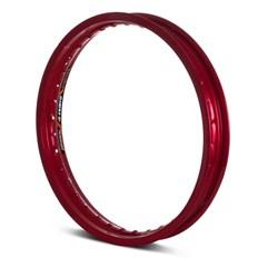 Aro Roda Moto Dianteiro Eninco Titan 125/150 YBR 125 Vermelho