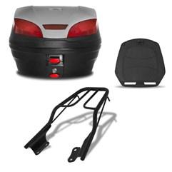 Baú 30 Litros Smartbox 3 + Bagageiro CB 250 Twister 2015 Até 2019 Pro Tork