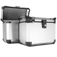 Bau Lateral Side Case Alumínio 33 Litros + Suporte Super Adventure Tiger 800 2014 à 2020