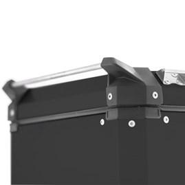 Bau Lateral Side Case Alumínio 33 Litros + Suporte Super Adventure Versys 650 2010 à 2013