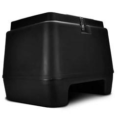 Baú Moto 80 Litros Pro Tork Preto