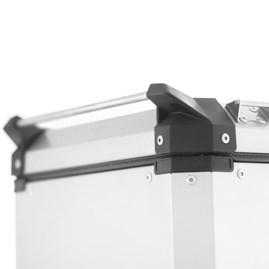Baú Moto Alumínio Top Case 48 Litros + Bagageiro Super Adventure CB 500X 2014 À 2020
