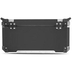 Baú Moto Alumínio Top Case 56 Litros + Base de Fixação Super Adventure XL 700 Transalp 2011