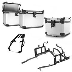 Bau Moto Top Case Roncar Kit Completo Kawasaki Versys 650 2010 à 2013