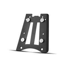 Bau Moto Top Case Roncar Kit Completo Ténéré 660 2012 Alumínio Escovado