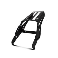 Bau Moto Top Case Roncar Kit Traseiro + Lateral Ténéré 250 2016 Alumínio Escovado