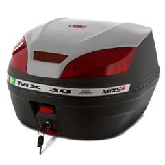 Baú Plástico Moto 30 Litros Mixs MX 30 Prata