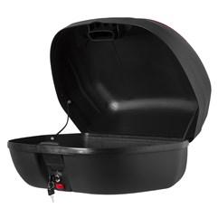 Baú Plástico Moto 45 Litros Pro Tork Smart Box 2 Vermelho