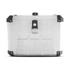 Bauleto Traseiro 48 Litros Alumínio + Base de Fixação Transalp 700 2010