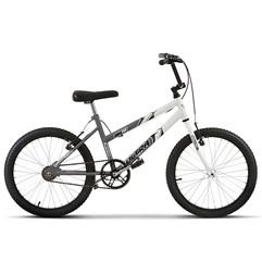 Bicicleta Aro 20 Feminina Bicolor Ultra Bikes Space Gray/Branco