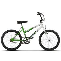 Bicicleta Aro 20 Feminina Bicolor Ultra Bikes Verde KW Freio/Branco