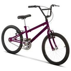 Bicicleta Aro 20 Pro Tork Ultra Freio V Brake Rebaixada Lilas